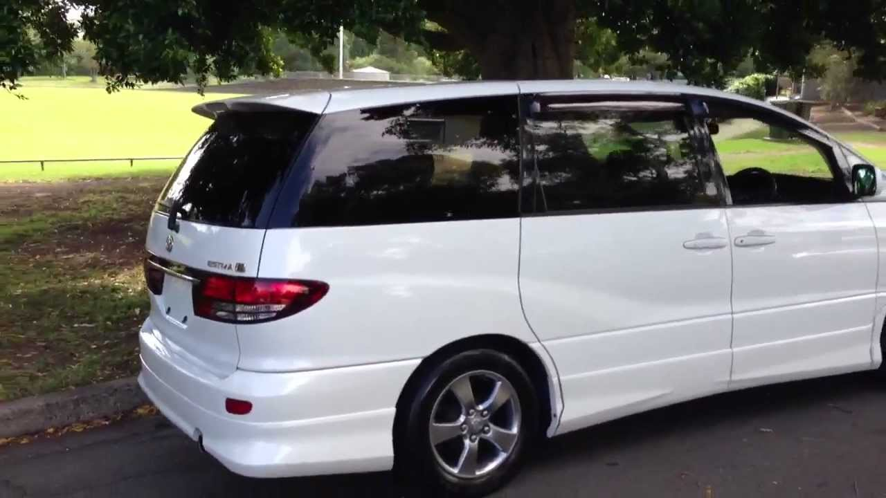 How To Import A Toyota Estima 2005 2006 Top Spec Model Call Www Edwardlees Au You