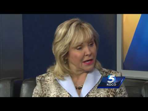 Gov. Mary Fallin discusses  state's budget crisis