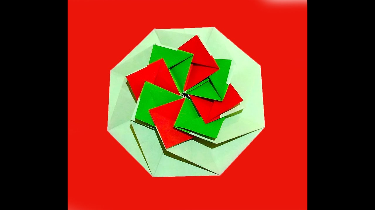Origami gifts - coasters or placemats! Origami octagonal ... - photo#12