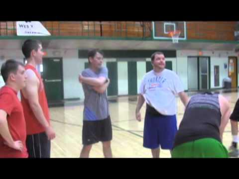 Harding Charter Prep Basketball Team vs Teachers