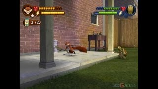Over the Hedge - Gameplay PS2 HD 720P