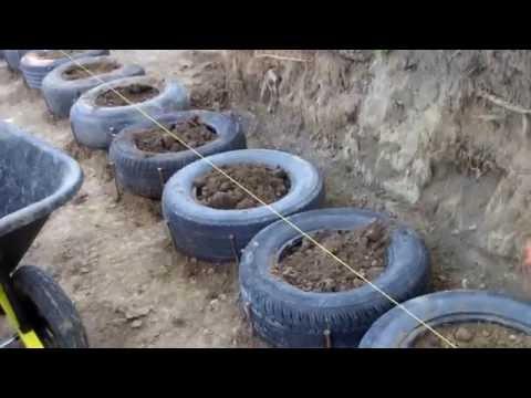 Tire Wall construction begins