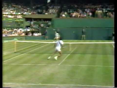 1988  Wimbledon 2R McEnroe vs Masur