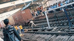 Train Accident @ Nagpur, happened infront of me...