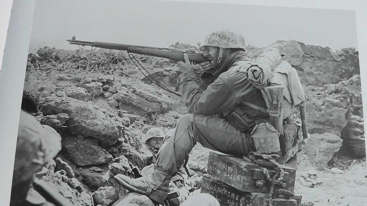 Iwo Jima Marine Rifleman - YouTube