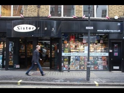 Record Store Walking Tour #23 ~ Sister Ray Ltd (Soho, London)