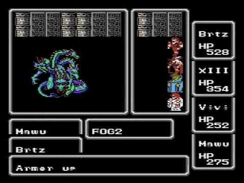 Final Fantasy Nes Tiamat Youtube