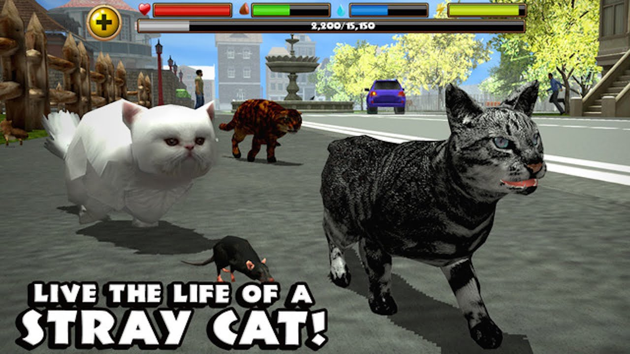 Stray cat simulator скачать на компьютер