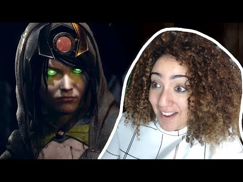 Thumbnail: ENCHANTRESS, YESS! - Injustice 2 Fighter Pack 3 Reveal Reaction