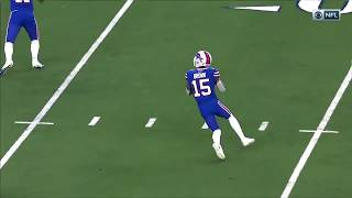 John Brown THROWS to wide open Devin Singletary for Touchdown
