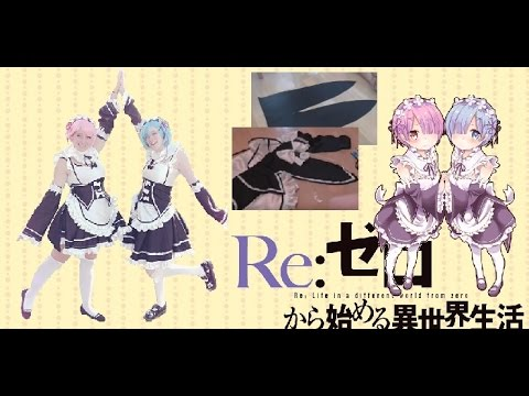 [TUTORIAL] How To Make Ram And Rem Cosplay Head Band Fr ...