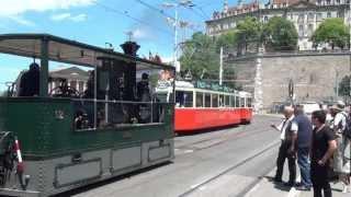 150 ans du tram à Genève 1.wmv