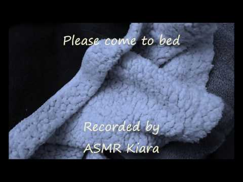 ASMR - Please come to bed - Girlfriend roleplay - funny