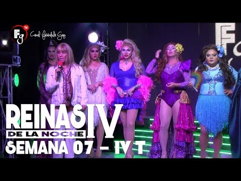 REINAS DE LA NOCHE T4 / CAP 07 - CANAL FARANDULA GAY