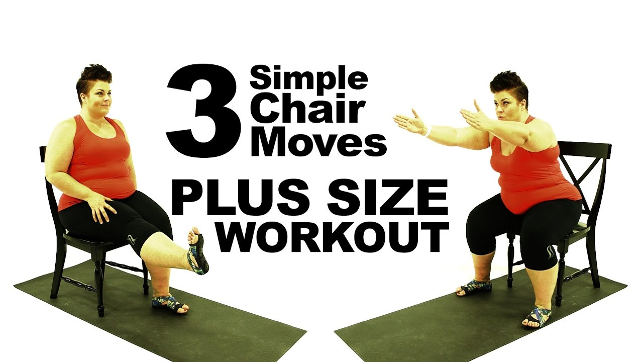 Chair Exercise Plus Size Workout 3 Chair Exercise Routine Modification