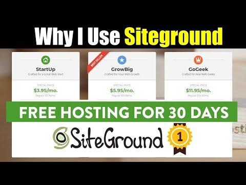 Why i Choose Siteground Web Hosting | Best Plans 2018 | Best Web Hosting Provider in India | Hindi
