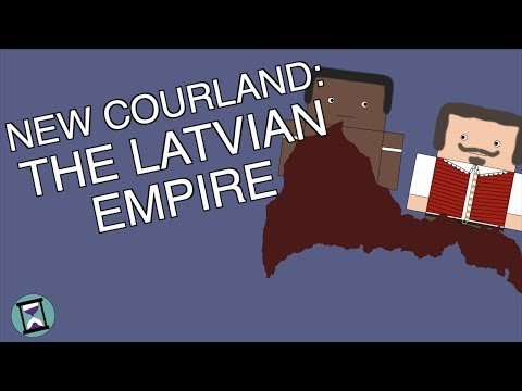 New Courland: When Latvia Built an Empire (Short Animated Documentary)