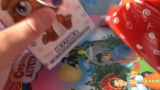Пушистики Sweet Box распаковка коробочки №3 котенок