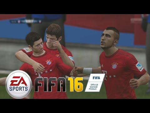 FIFA 16 -  El Equipo Imparable del Bayern de Múnich - Mi primer partido Online !