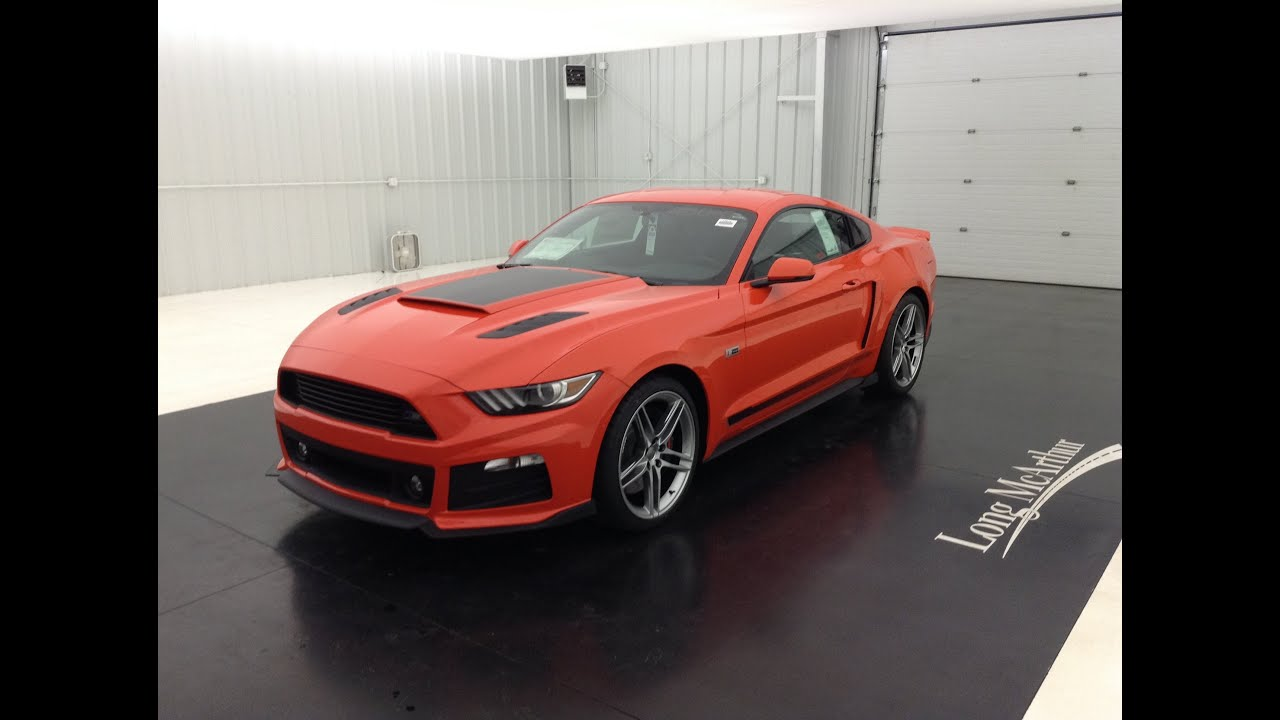 new 2015 ford mustang roush stage 2 youtube. Black Bedroom Furniture Sets. Home Design Ideas