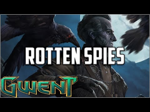 Gwent Letho Regis Rotten Spies ~ 59 Point Rot Tosser ~ Gwent Deck Gameplay