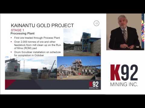 K92 Mining CEO Ian Stalker updates investors at the Mining Capital Conference