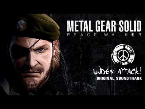 Metal Gear Solid Peace Walker - Under Attack