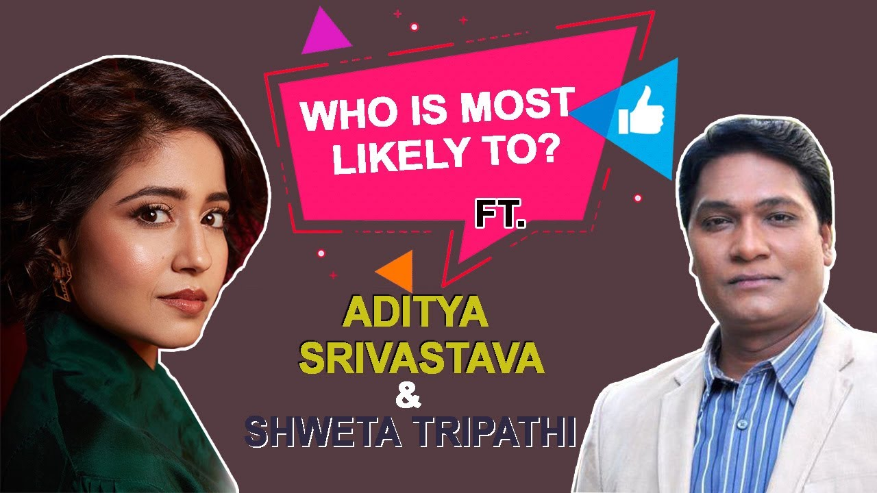 Who Is Most Likely FT. Aditya Srivastava & Shweta Tripathi | Raat Akeli Hai | Netflix India | BOI