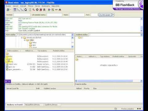 OneCMS E-shop - Návod Na Používání FTP Klienta A Nahrávání Obrázků Pro Hromadný Import