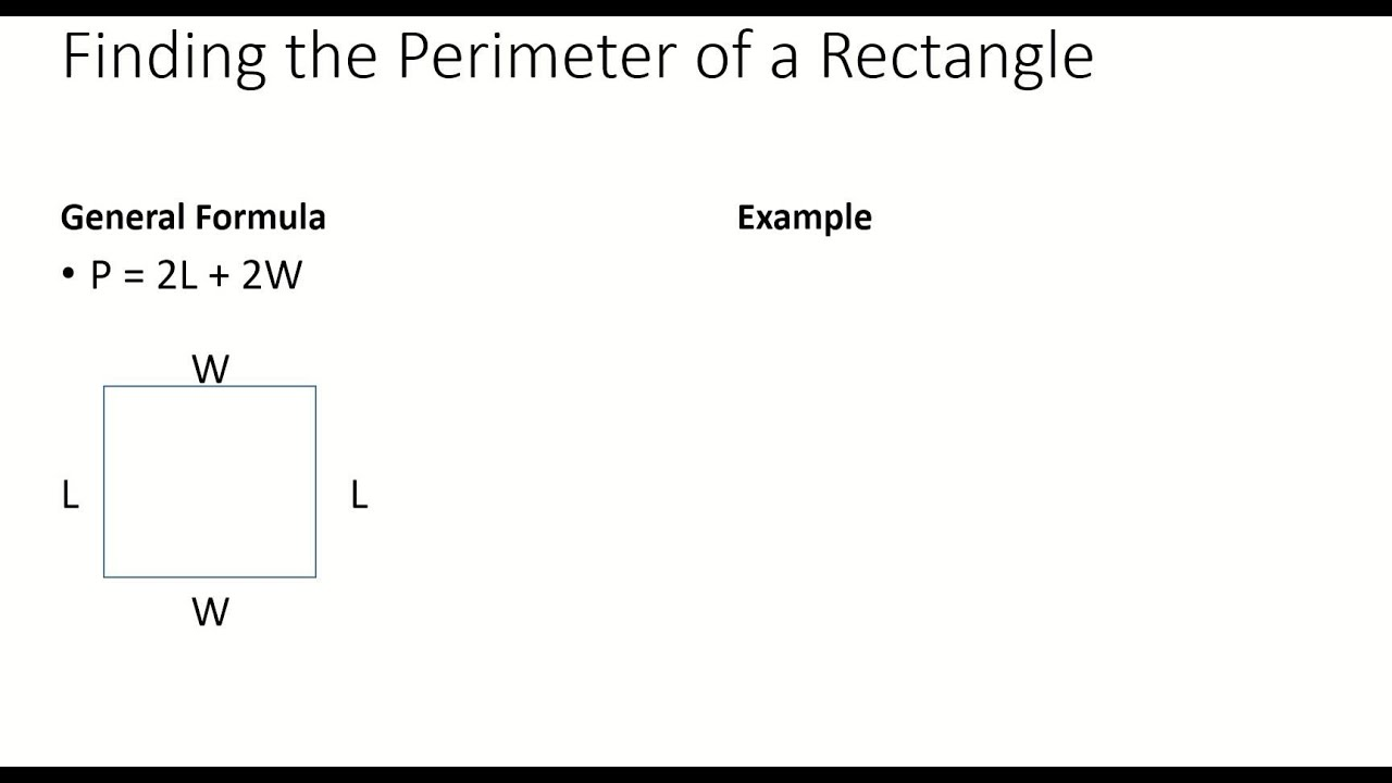 Finding The Perimeter Of A Square, Rectangle, Circle, Triangle Review