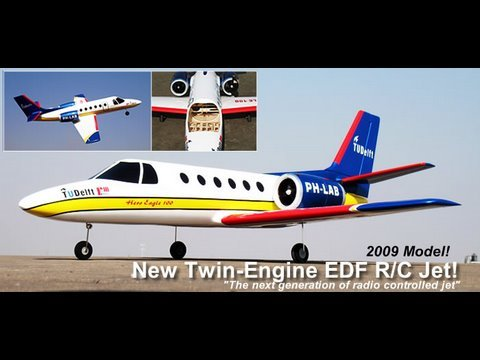 twin engine rc electric wiring 100mm twin-engine electric ducted fan rc scale jet - youtube #5
