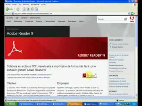 Instalar Adobe Reader 9