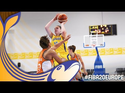 Sweden v Netherlands - Full Game - Classification 9-16 - FIBA U20 Women's European Championship 2017