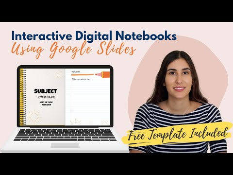 How I Create Interactive Digital Notebooks Using Google Slides (FREE TEMPLATE INCLUDED!)