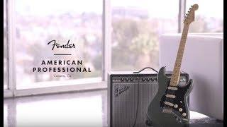 Электрогитара FENDER American Professional Stratocaster обзор в МузТорг Украина