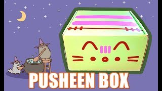 PUSHEEN BOX STUPENDA! Halloween/autunno 2019