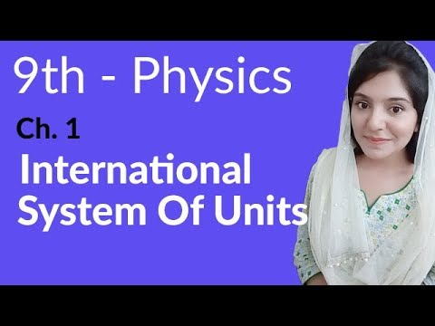 International System of Units - Physics Chapter 1 Physical Quantities & Measurements - 9th Class