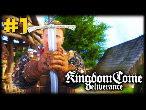 FORGE THE SWORD! Kingdom Come Deliverance Let's Play #1
