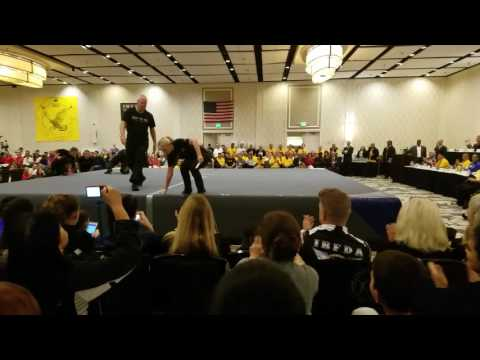 Baltimore 2017 East West Kung Fu Opening Ceremony Black Belt Demo