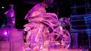 Как создают ледяные скульптуры / Компания ICE UA / Зимняя страна