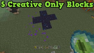 Minecraft Xbox 360 + PS3 5 Creative EXCLUSIVE Blocks