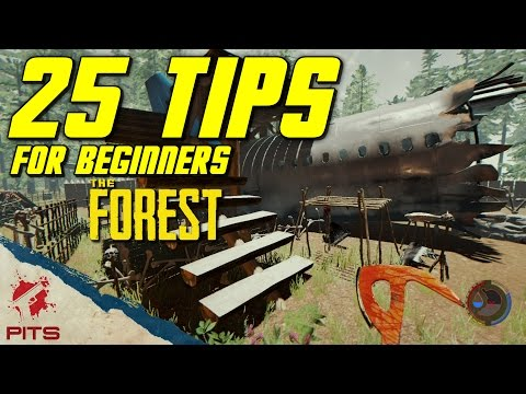 25 Beginner Tips for The Forest | The Forest Guide