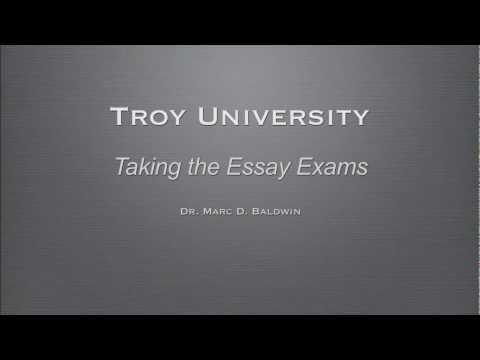 Taking the Essay Exams