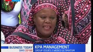 Coast region lobby group protest against privatisation of Kenya Ports Authority