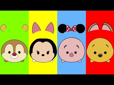 Wrong Ears Tsum Tsum Minnie Pooh Piglet Dale Finger Family Song Nursery Rhymes
