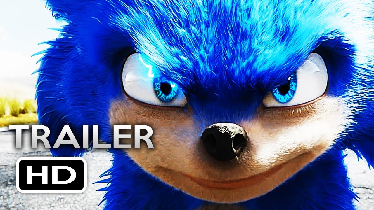Sonic The Hedgehog Official Trailer 2019 Jim Carrey Live Action Movie Hd Youtube