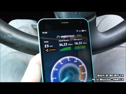 Total Test 4G In Moscow - BL, MF, MTS, T2 - PART14 - MRRLLRBLL