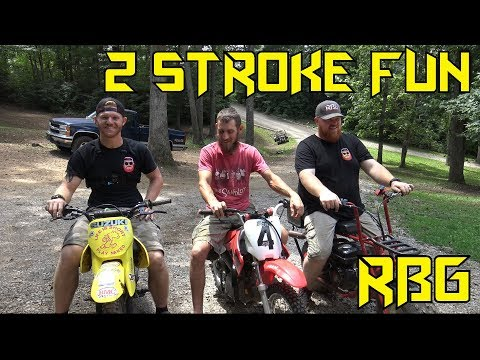 DS80 2 Stroke Fun & Bike Fixes ~ Mini Bike Monday