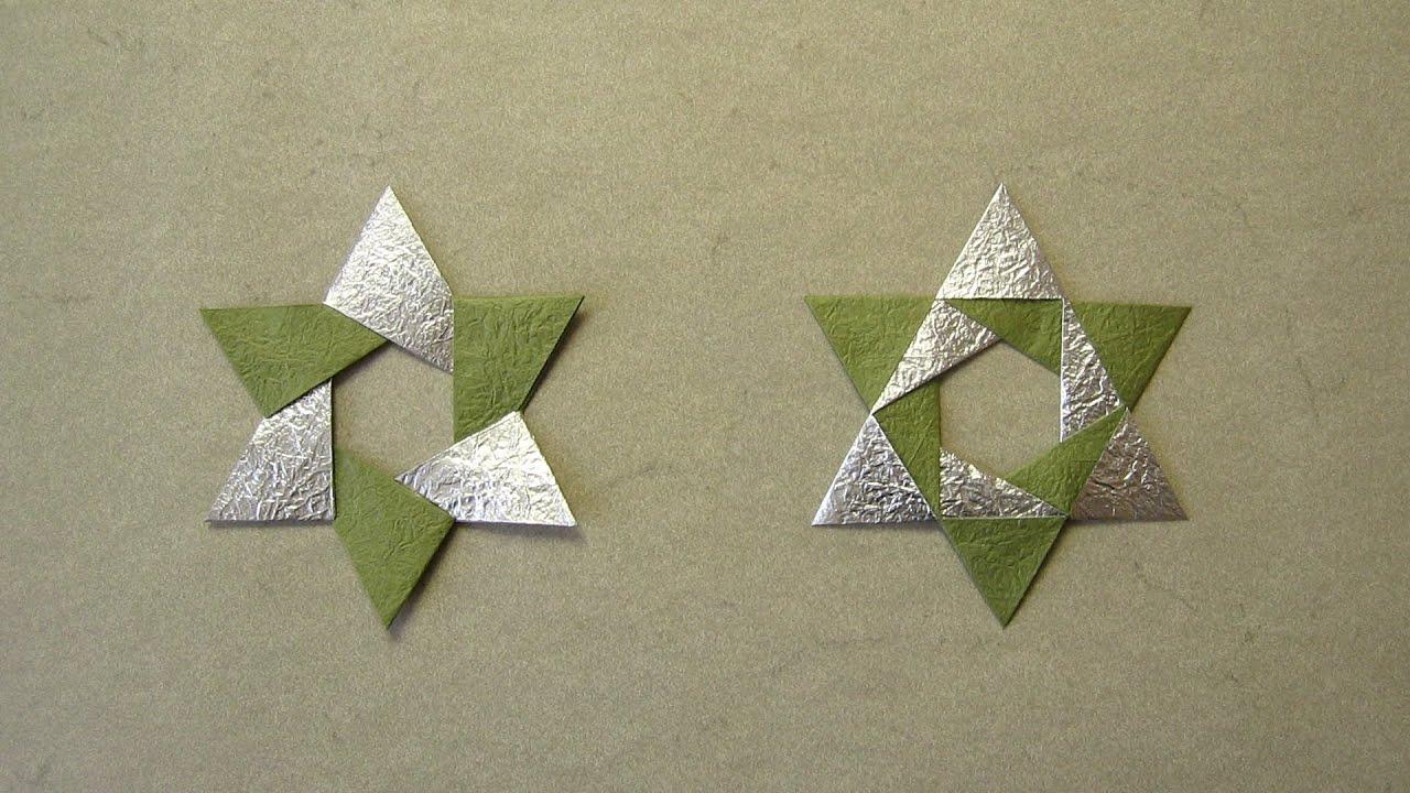 Christmas Origami Diagram Start Capacitor Wiring Instructions Hex Star Maria Sinayskaya Youtube