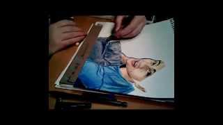 Drawing Anthony from Smosh